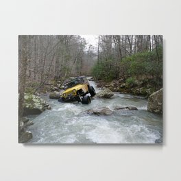 JEEP Creek Metal Print
