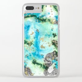 Water's Edge Clear iPhone Case