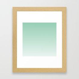 Light Mint Framed Art Print