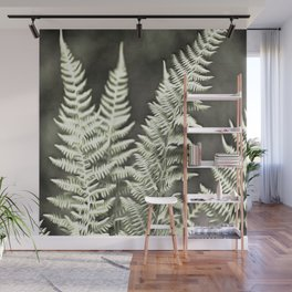 Fantasy Feather Like Fern Wall Mural