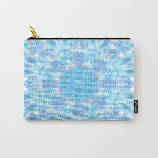 Soft Shades of Color Kaleidoscope Carry-All Pouch