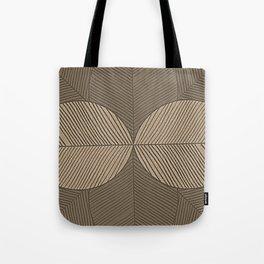 Minimal Tropical Leaves Pastel Beige Tote Bag