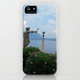 View from the top: Isola Bella, Italy iPhone Case