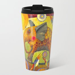 Enamored elephant Travel Mug
