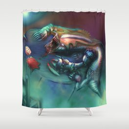 What's for Breakfast? Shower Curtain