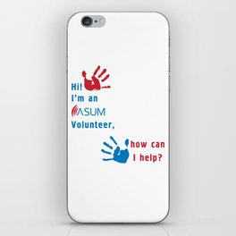 ASUM Volunteer_2 iPhone Skin