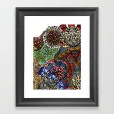 Psychedelic Botanical 3 Framed Art Print