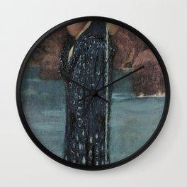 John William Waterhouse - Circe Invidiosa (Jealous Circe) Wall Clock
