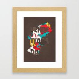 Vendettagada Framed Art Print