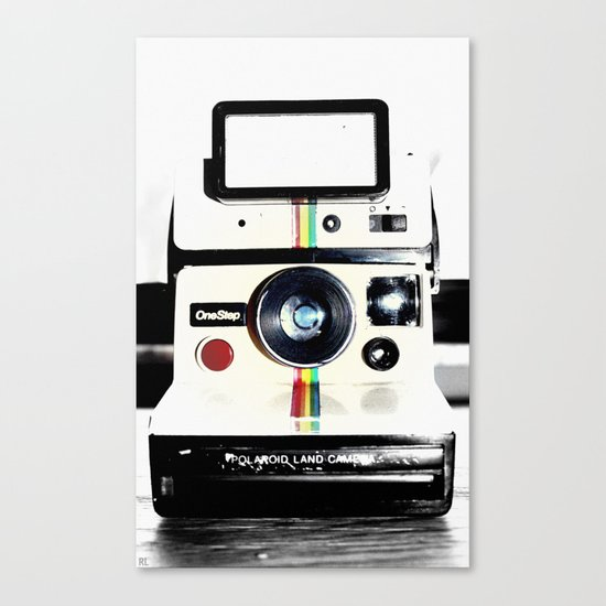 Shake it like a Polaroid picture Canvas Print