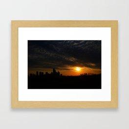 Houston. Framed Art Print