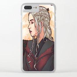 Nouveau Queen Clear iPhone Case