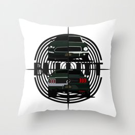 Bullitt Generations Throw Pillow