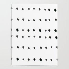 Modern boho dot Poster