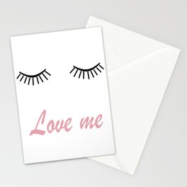 Love me 2 Stationery Cards