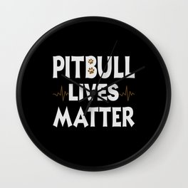Dogs Pitbulls Pitbulls Pitbull Clothing Dog Stops Wall Clock
