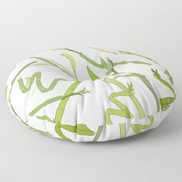 Scattered Bamboos Floor Pillow