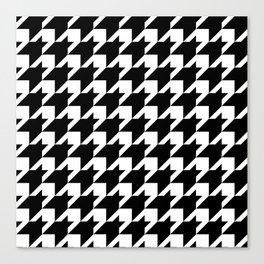 Houndstooth Canvas Print
