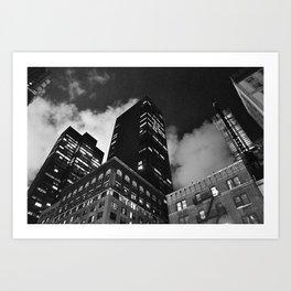 Gotham2 Art Print