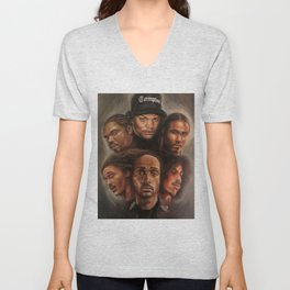 Bone Thugs-N-Harmony Oil Painting Unisex V-Neck