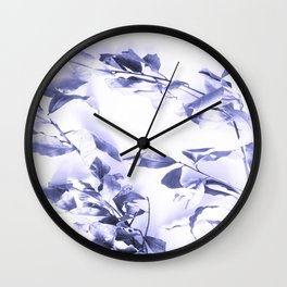 Bay leaves 3 Wall Clock