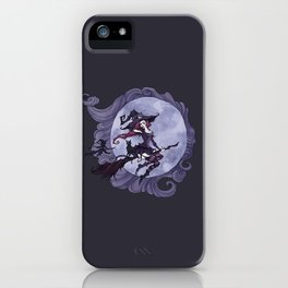Flying Witches iPhone Case