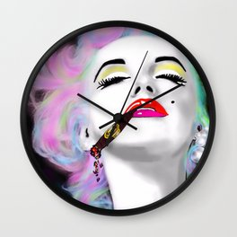 Marilyn Punked Wall Clock