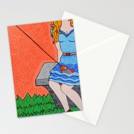 La novia del pescador Stationery Cards