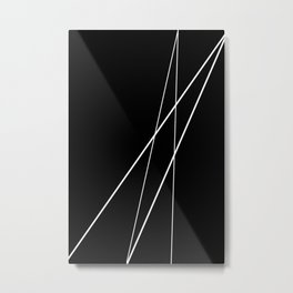 Asymetry Metal Print