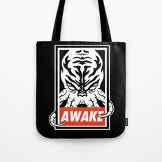 Awake. Tote Bag