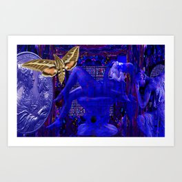 Mother's Love Protected Art Print