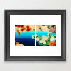 Three-Cornered World Framed Art Print