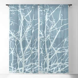 We Don't Have to Hide  Sheer Curtain