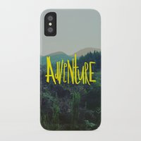 adventure iPhone & iPod Cases featuring Adventure by Leah Flores