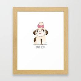GOO GOO Framed Art Print
