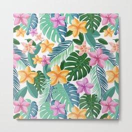 Tropical summer vibes Metal Print
