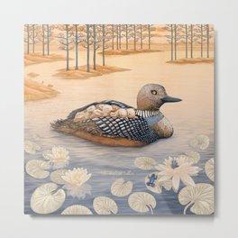 Mother goose Metal Print