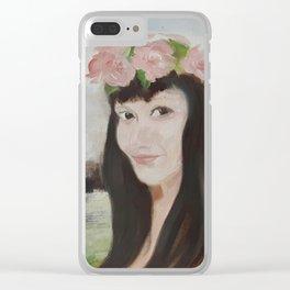 Sha L Clear iPhone Case