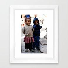 NAMASTE bai Framed Art Print