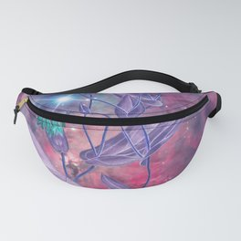Space Flowers Fanny Pack