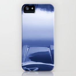 Smooth Sailing kayaking monochrome reflections iPhone Case