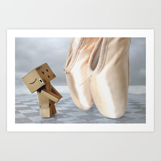 May I ask you to dance? Art Print