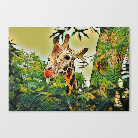 A Bit of Attitude Canvas Print