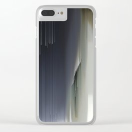 Wide Calm Jazz Clear iPhone Case