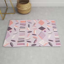 3D Geometry Lined Up 1 Rug
