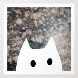 cat 6 Art Print