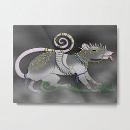 The Sacred of Rat Metal Print