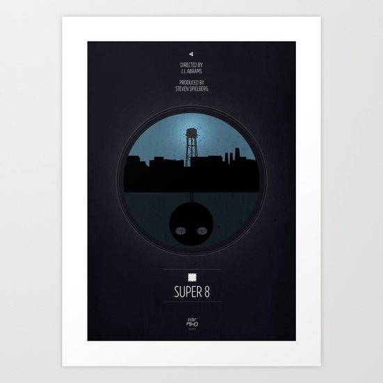 Super 8 Print Art Print