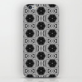 Zebra Stripe Symmetry iPhone Skin