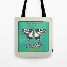 Machaon (Papilio Macaon) Tote Bag
